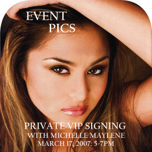 VIP Signing with Michelle Maylene